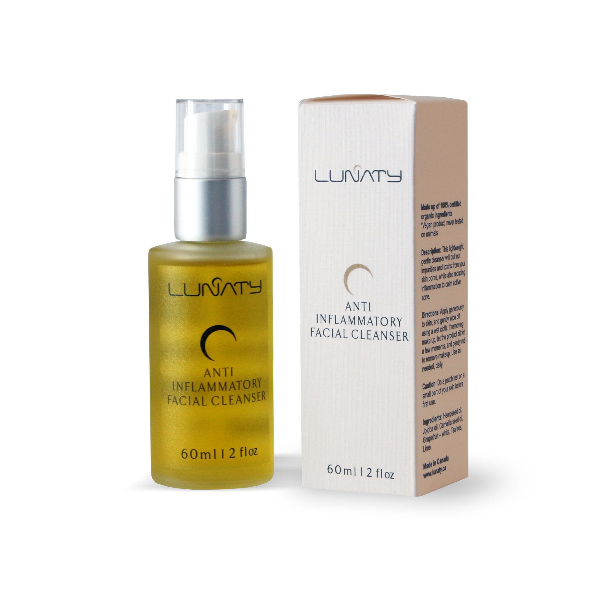 lunaty - Anti Iflam Facial Cleanser